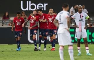 Lille lõpetas PSG kaheksa-aastase võimu Prantsusmaa superkarikal