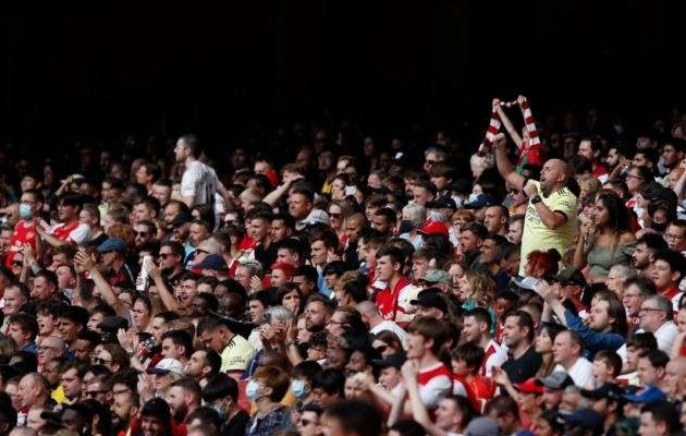 Arsenali fännid saavad rõõmustada - väravavahtide osas järelkasvu on. Foto: Scanpix / Adrian Dennis / AFP