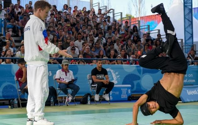 Breiktants on 2024. aastal täisväärtuslik olümpiaala. Foto: Scanpix / Eitan Abramovich / AFP