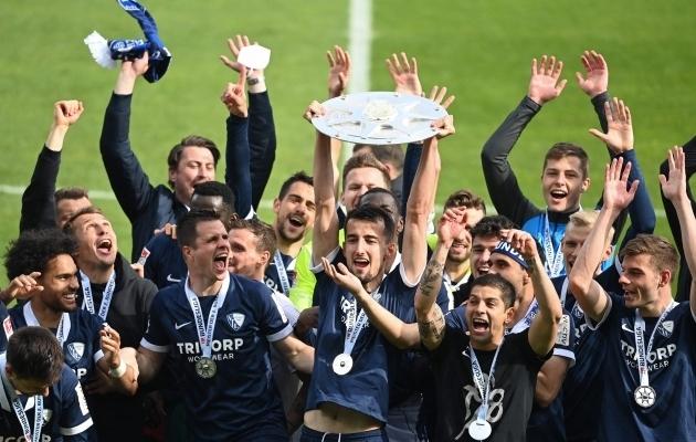 Bochum võitis eelmisel hooajal Saksamaa esiliiga ja naaseb Bundesligasse. Foto: Scanpix / Ina Fassbender / Pool / AFP