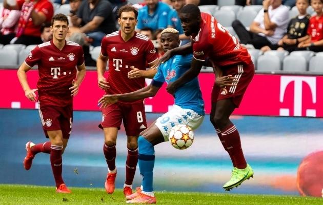 Bayern pidas neli hooajaeelset kontrollmängu, kui kaotati Kölnile, Mönchengladbachile ja Napolile ning viigistati Amsterdami Ajaxiga. Foto: Scanpix / Roger Buerke / imago images