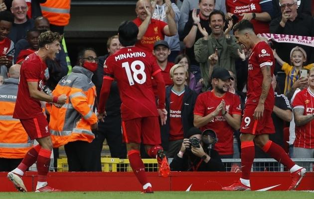 Õuduste hooaja selja taha jätnud tunamullune meister Liverpool julgeb jälle tiitlist unistada. Foto: Scanpix / Zuma Wire / Darren Staples / Sportimage