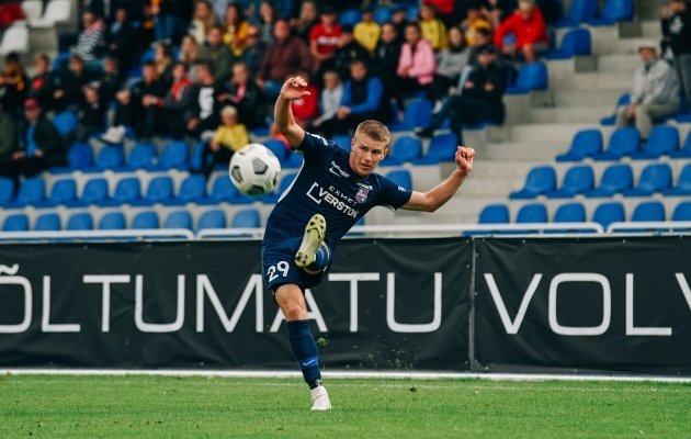 Joseph Saliste augustikuus tsenderdamas. Foto: Liisi Troska / jalgpall.ee
