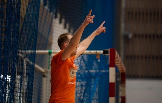 Saalijalgpalli hooaeg on algamas. Foto: Liisi Troska / jalgpall.ee