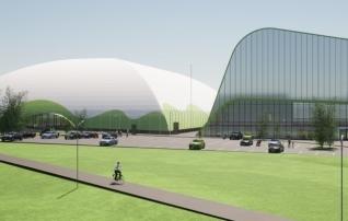 Tartus algas hooajalise jalgpallihalli ehitus