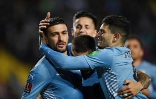Suareze ja Cavanita Uruguay lõi MM-valikmängus neli väravat