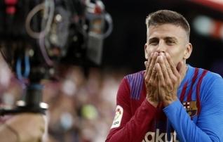 Pique kritiseeris fänne ja kaitses meeskonnakaaslast: ta armastab seda klubi rohkem kui keegi teine