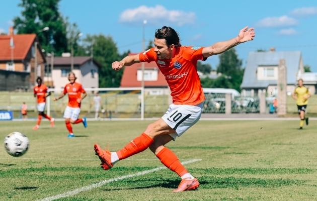 Aleksandr Zakarljuka. Foto: Liisi Troska / jalgpall.ee