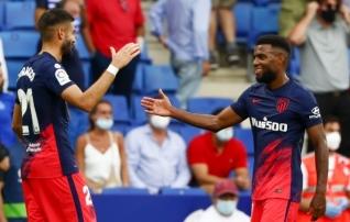Atletico murdis Espanyoli südamed rekordiliselt hilja