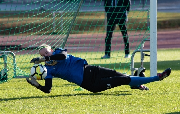 Karina Kork. Foto: Liisi Troska / jalgpall.ee