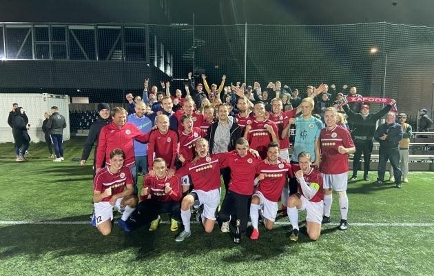 Tallinna FC Zapoos. Foto: jalgpall.ee