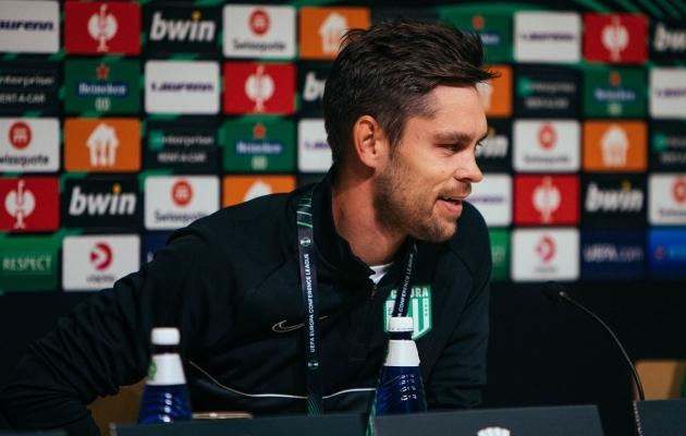 FC Flora peatreener Jürgen Henn. Foto: Catherine Kõrtsmik