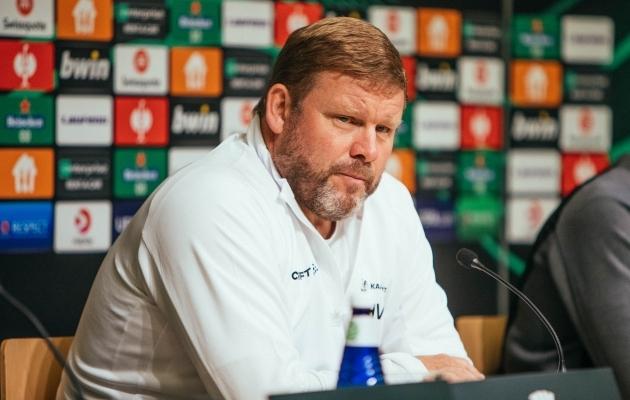 Genti peatreener: ütlesin enne mängu meeskonale, et olen rahul ka korraliku mängu ja viigiga  (värava autor: olen Balti kaitsjatega harjunud)