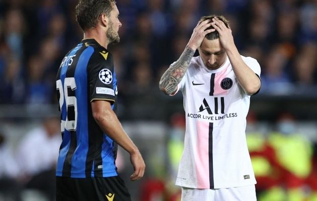 Lionel Messi Meistrite liiga debüüt PSG-s polnud just meeldivaim. Foto: Scanpix / Kenzo Tribouillard / AFP