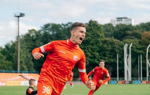 Aleksandr Šapovalov. Foto: Liisi Troska / jalgpall.ee