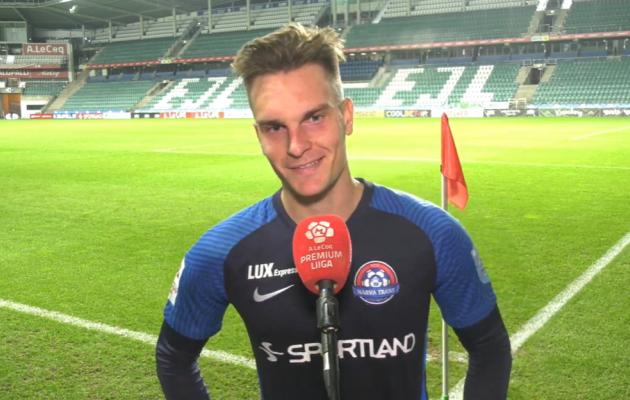 Martin Käos. Foto: Soccernet.ee