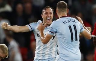 Liigakarikasarjas Unitedi alistanud West Ham loositi järgmises ringis kokku Cityga  (+ teised paarid!)