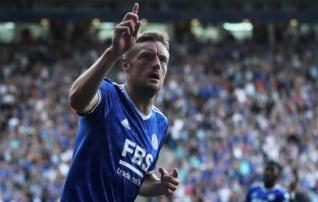 Vardy omamoodi  party : mees lõi palli mõlemasse väravasse ja Leicester jäi võiduta