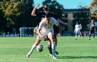 Pavel Marin: võrdne mäng, aga pallid lendasid meil seekord ikka võrku kah