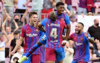 Barcelona seis polegi nii halb? Vigastuspausi lõpetanud Ansu Fati naasis väravaga ja isegi Luuk de Jong sahistas!