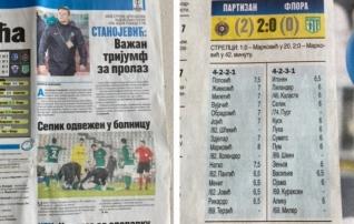 Serbia ajaleht jagas hindeid ja ristis Flora kukutanud Markovici tsaariks