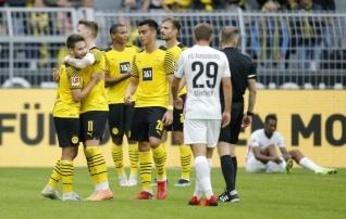 Dortmund tõusis kaheksanda järjestikuse koduvõiduga teiseks
