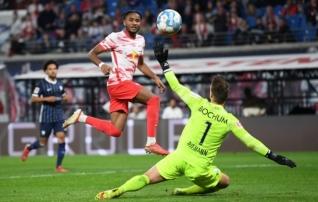 Leipzig kirjutas pikalt püsinud nullid kaheksa minutiga ülikindlaks võiduks