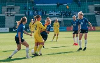Viiki vajanud tüdrukute koondis kaotas viimases valikmängus napilt Ukrainale  (galerii!)