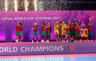 Saalijalgpall sai uue maailmameistri: Portugal alistas finaalis tiitlikaitsja