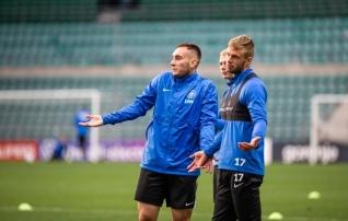 Koondise nimekiri õhtuseks mänguks Walesiga sai paika: kaks meest jääb eemale keelu, üks vigastuse tõttu