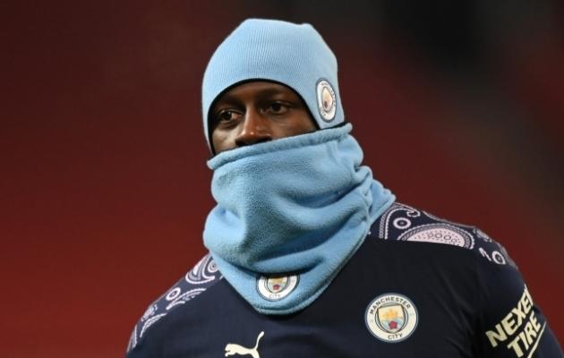 Manchester City kaitsja Benjamin Mendy. Foto: Scanpix / Reuters / Shaun Botterill
