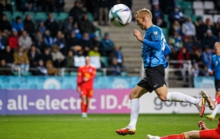 Eesti parim Walesi vastu - Joonas Tamm