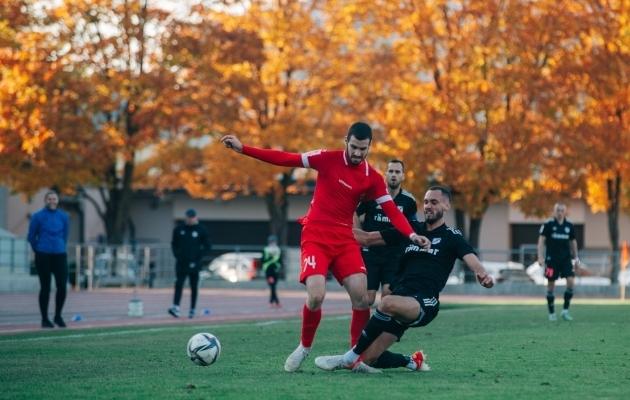 Dušan Bakic tegi enim pealelööke väravale ja kõige rohkem pallikaotusi. Foto: Liisi Troska / jalgpall.ee