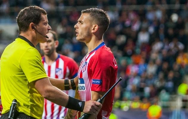 Lucas Hernandeze probleemid seadustega ulatuvad aega, mil ta mängis Atletico Madridis. Foto: Gertrud Alatare