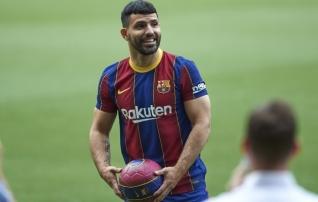Agüero lõi esimeses mängus Barcelona eest värava  (video tabamusest!)