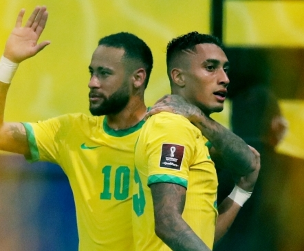 Neymar andis hoogu, Raphinha vajutas gaasi ning Brasiilia noppis 10. võidu