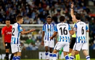 Uus liider: Sociedad korjas mõttetu punase kaardi, aga möödus liigatabelis Realist ja Atleticost