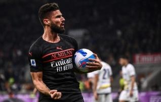 Kes muu kui Olivier Giroud! Ründeäss andis alguse Milani võimsale  comeback 'ile  (ajalooline start!)