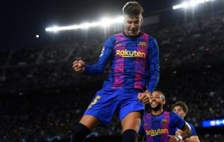 Küll napp, aga siiski võit! Barcelona sai esimesed Meistrite liiga punktid pärast Messi lahkumist