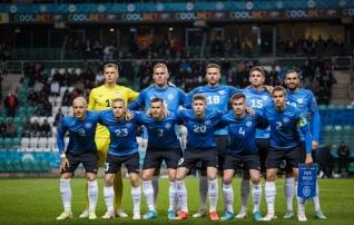 Eesti koondis tõusis maailma edetabelis kuue koha võrra