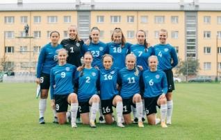 Neidude U19 koondis lubas vastasel teha 31. minutiks kübaratriki