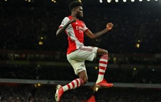 Partey avas väravaarve ja Arsenal võitis