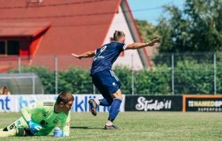 Maardu lõi Kotenko väravasse viie minuti jooksul kolm palli