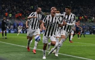 Dybala päästis Juventuse Itaalia derbis hilise penaltiga